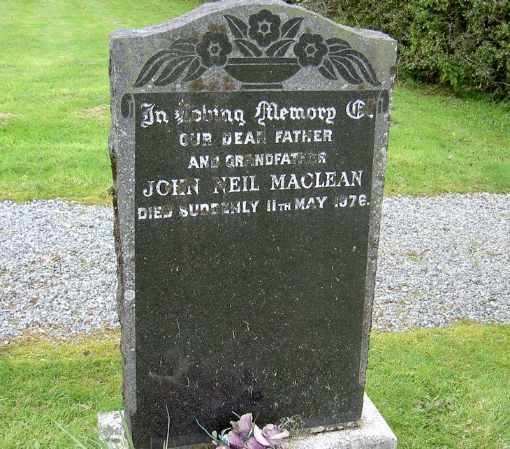 John Neil Maclean.