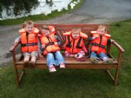 Plockton's next generation of Sailors: Orla, Bodhan, Tegan & Aela
