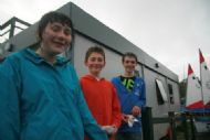 Coleen, Christopher and Ruaridh