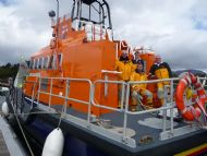 A visit from RNLI Portree