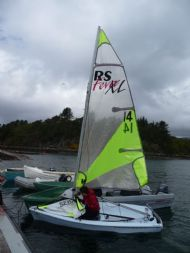 JP Watersports visited with some RS dinghies