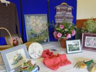Plockton Horticultural Society display