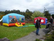 Bouncy Castles at the Village Hall