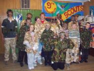Scouts 21 April 2009