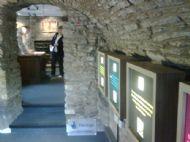 dunblane museum entrance room