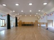 Hall with Bunting