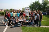 Erasmus School Students in North Hykeham