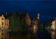 Bruges in blue