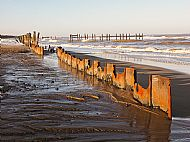 Happisburgh defences