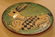 Celtic Hare Plate