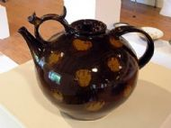 Large (very) brown teapot
