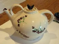 Large (very) white teapot