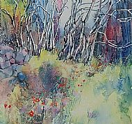 By the Dry-stone Wall