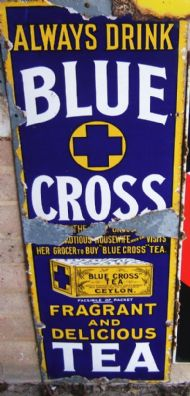 Blue Cross Tea 1920