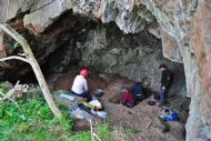 Test Pitting in Broad Cave