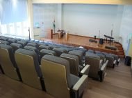 The  Lecture Theatre in the new Student Building