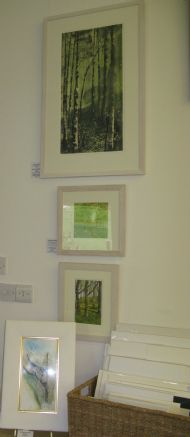 Wood'n'Trees Exhibition Etching & Embroidery collection