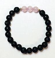 Aromatherapy Bracelet Rose Quartz