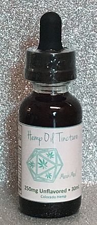 250mg Unflavored Tincture