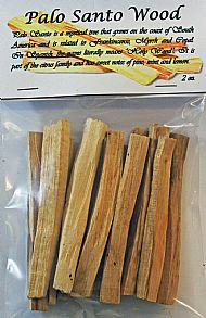 Palo Santo Wood 2 oz. Package