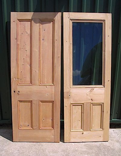 farmhouse furniture - door stripping