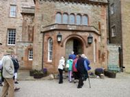 Entering the Castle of Mey
