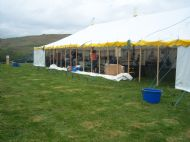 Various Stall Holders within marquee