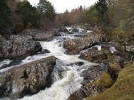Cassley Falls, Rosehall
