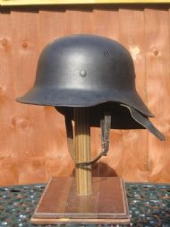 Germany, WW2 Luftschutz shape, steel.