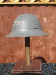 Great Britain, SFP (Street Fire Party), Civilian Fire Guard 1941 dated, steel.