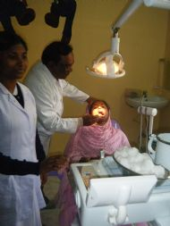Dental session