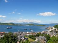 Oban Bay from Mc Caigs Tower