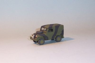 bw193.  land rover series 2, lightweight hardtop  - � 9.50
