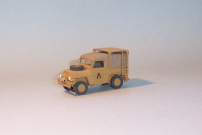 bw198.  land rover series 3, lightweight helicopter support  - � 9.50