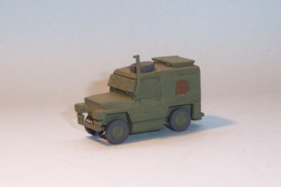 bw200.  land rover lightweight vpk armoured (n ireland)  - �9.50
