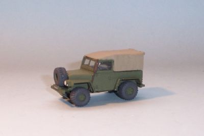 bw199.  land rover series 3, lightweight 'bog frog' (falklands)  - �9.50