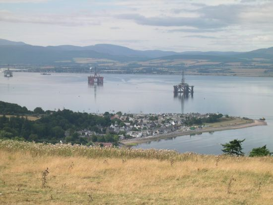 view of cromarty from the south sutor