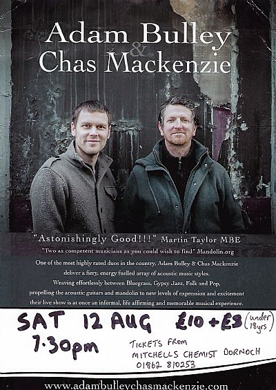bulley & mackenzie at carnegie hall clashmore