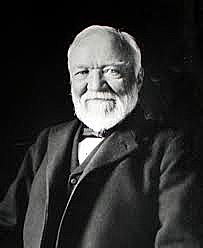 andrew carnegie of skibo castle built the carnegie hall clashmore