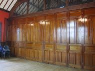 Hall Interior - partition