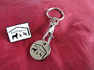 KWK9 Pin Badge and Trolley Coin/Keyring