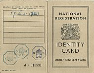 National ID card 1948 front