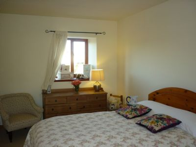 one of three spacious double bedrooms on the ground floor