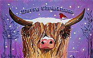 A5 Merry Christmoos from Hamish Card