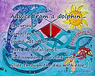 Advice From a Dolphin Coaster