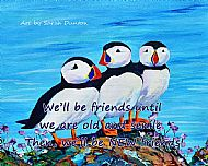 We'll Be Friends Coaster