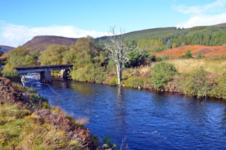 novar fishings, river alness, beat 1 kinloch bridge