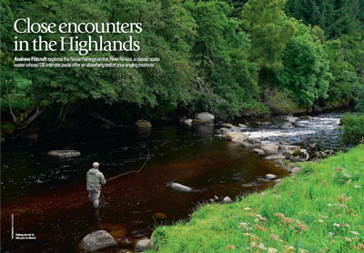 novar fishings, river alness, trout and salmon magazine feature