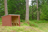 novar fishings, river alness, beat 4 hoch fishing shelter