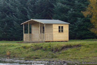 novar fishings, river alness, infrastructure, beat 2 fishing hut